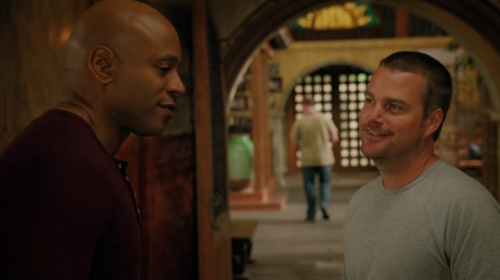 Callen is right, at least Sam's father was *there*.