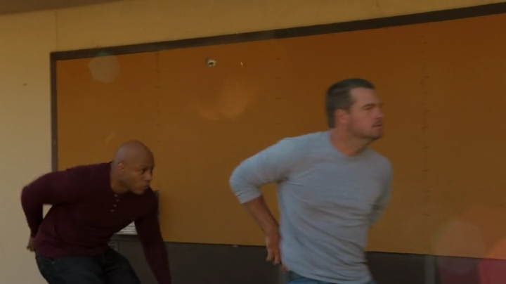 Shoot-out with Callen and Sam ?? Yeah, good luck with that, boy !! ;)