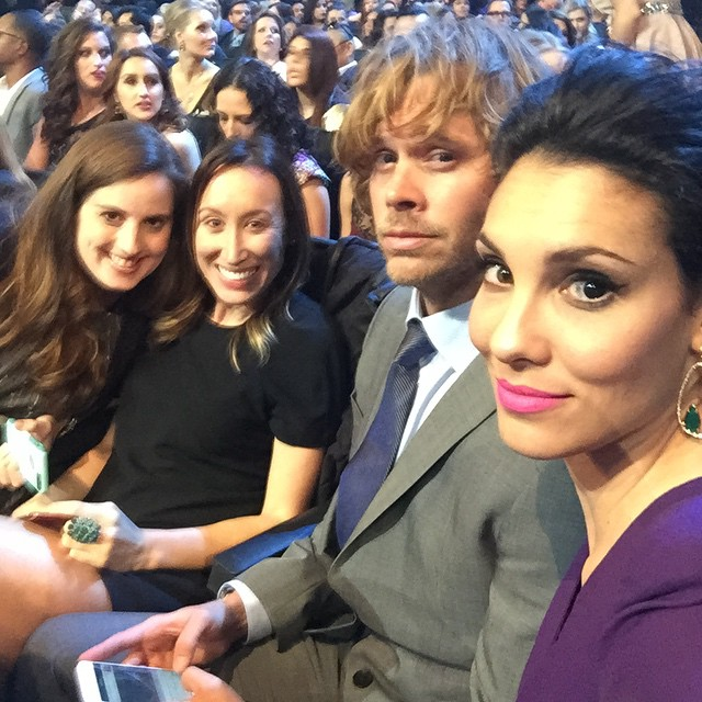 Daniela ruah and eric christian olsen at the people s choice awards