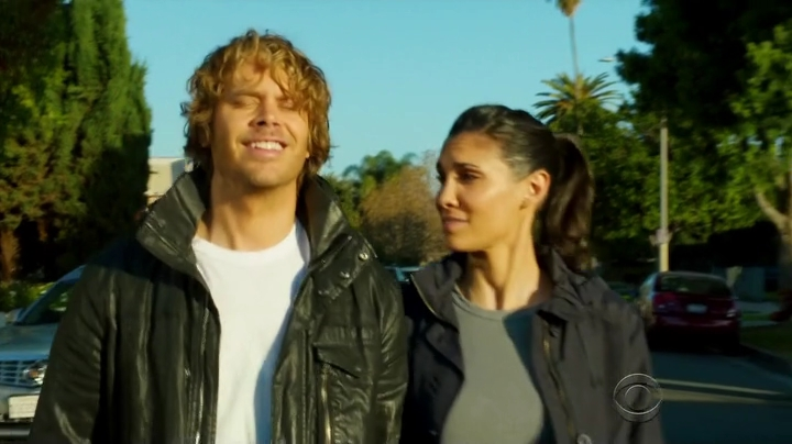 Awesome Densi banter... and Kensi finally learned to use 'touché' at the right time...