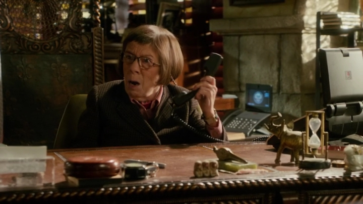 """She just hung up on me."" Bet that lady is now on ""Hetty's List"" as well..."