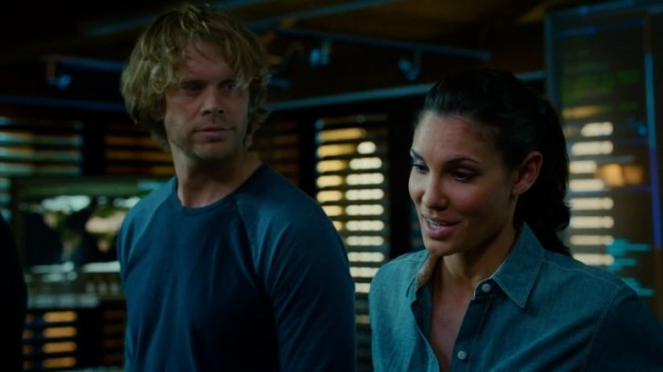 """Three days of hell. I'd rather clean half of Kensi's apartment."""