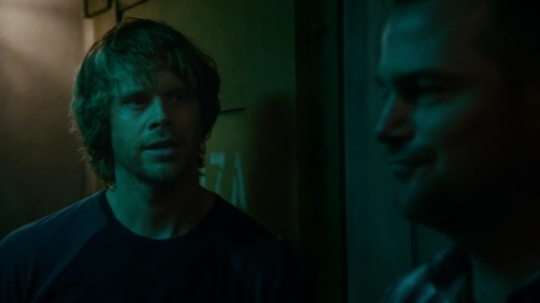 "Callen and Deeks talking about ""their girls""..."