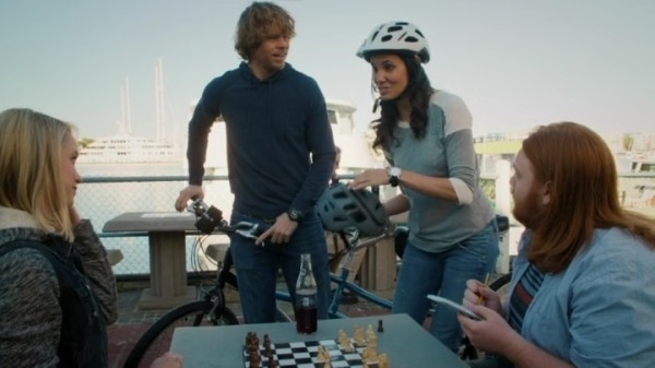"Kensi & Deeks as the ""Crazy Honeymooners""... Great job !!"