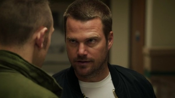 Callen talking sense into Charlie - hopefully...