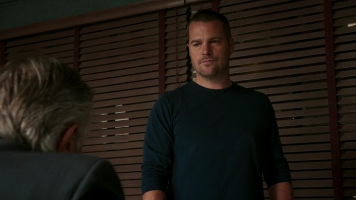 The story about the coins sheds a little more light on Callen's father's story...