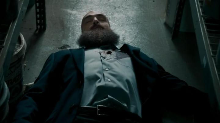Karposev's dead... must have been Anna...