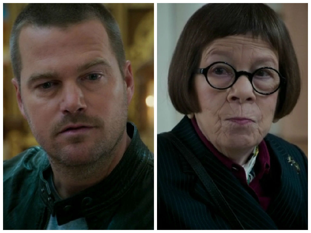 Hetty telling Callen about his father...