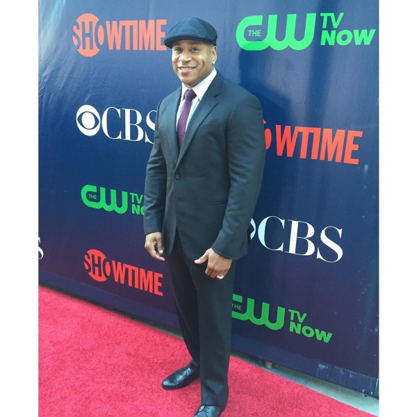 ©ClaudineJoseph - @llcoolj hits the red carpet for the annual press tour #TCA15 #CBS