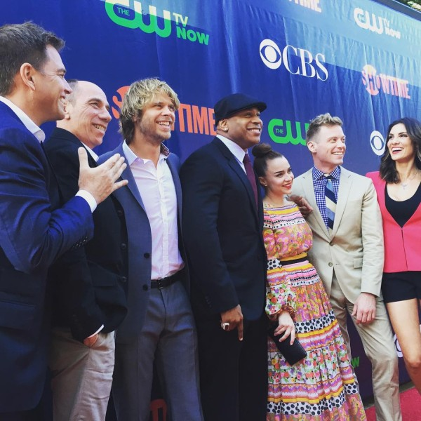 ©NCISLA - Look who is jumping into #ncisla! More of this coming to a TV screen near you this fall....