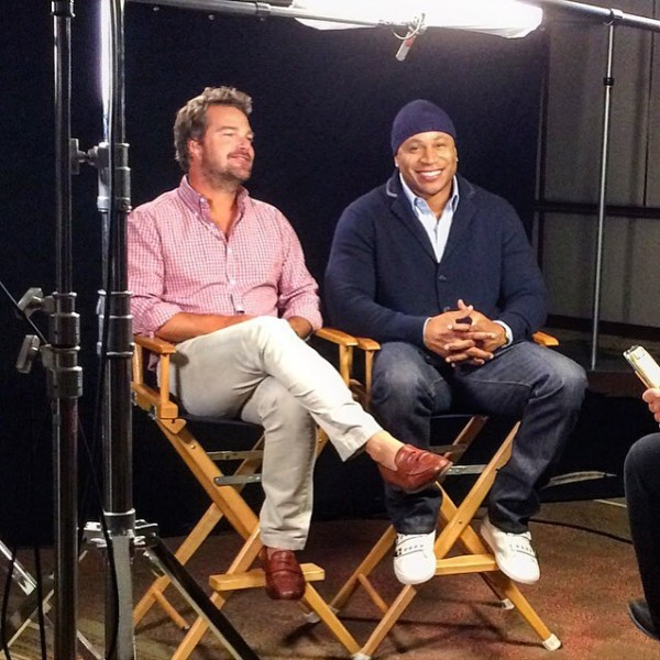 via @LLCoolJ -- Press day with my man @chrisodonnell #NCISLA #pressday