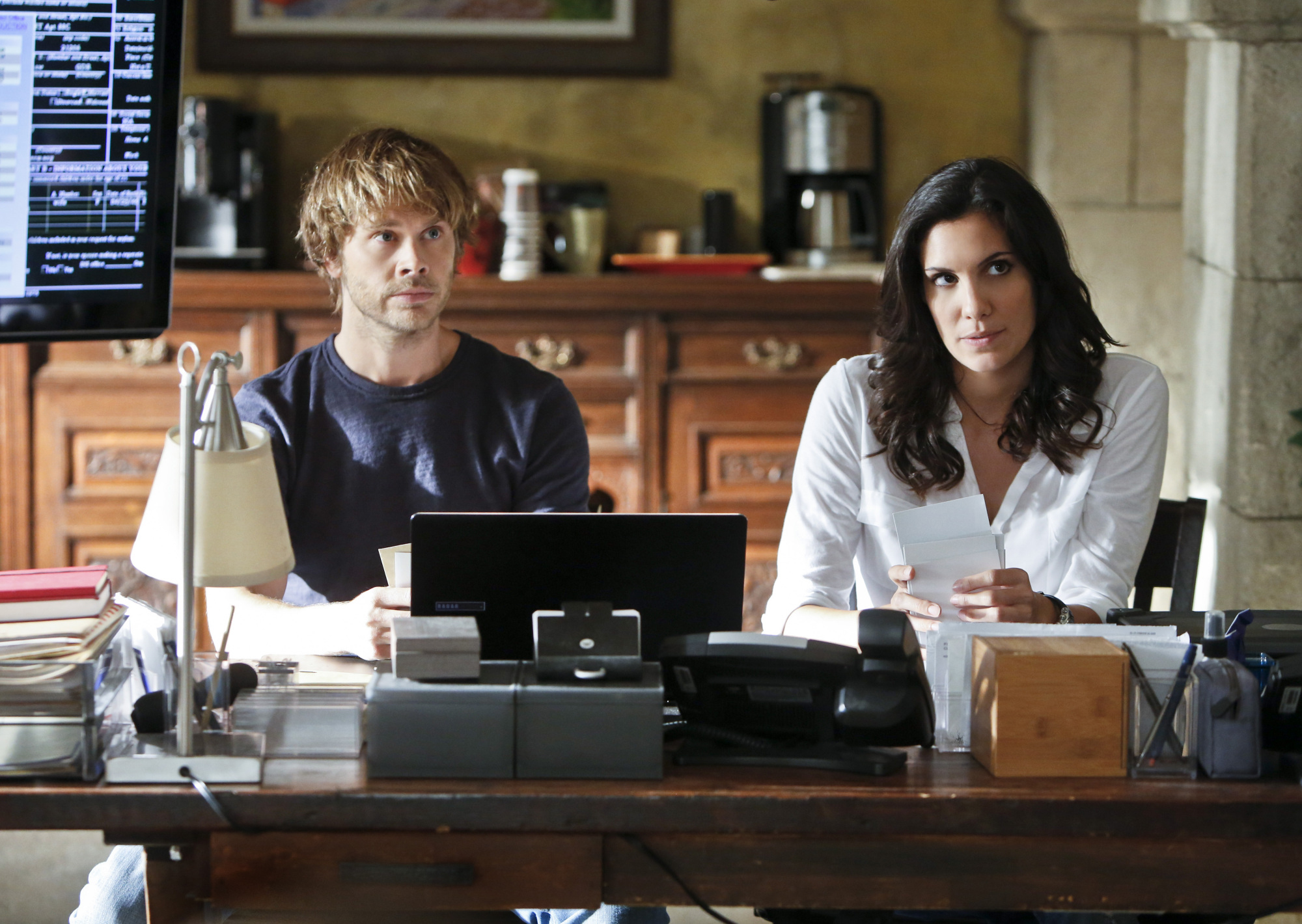 "NCIS Los Angeles Season Five Episode Four ""Reznikov, N."" Promo Picture"