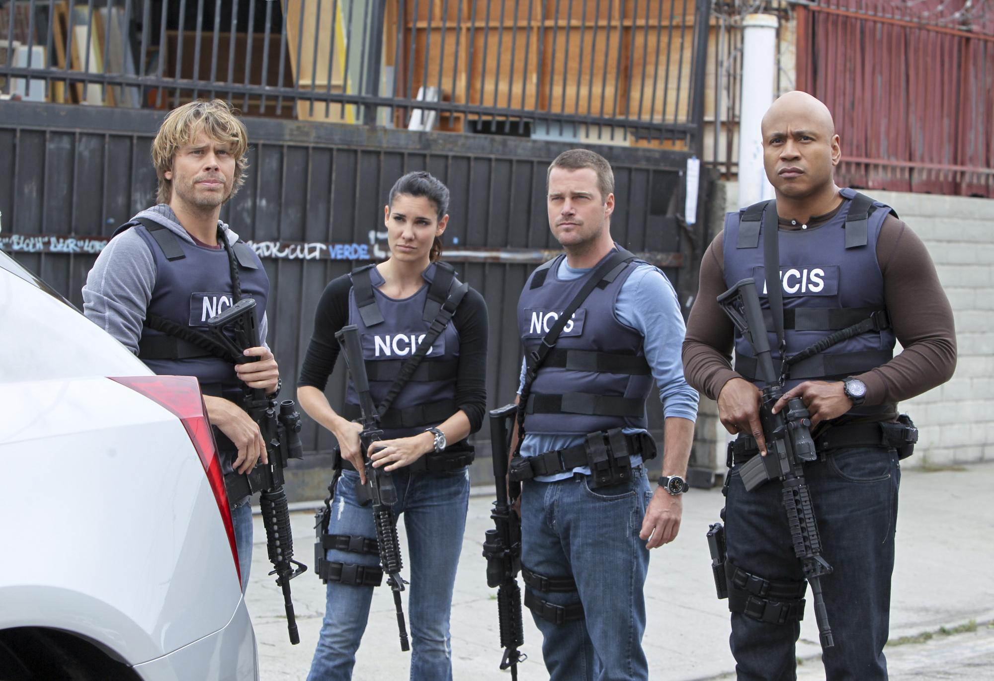"NCIS Los Angeles Season Five Episode Five ""Unwritten Rule"" Promo Picture"