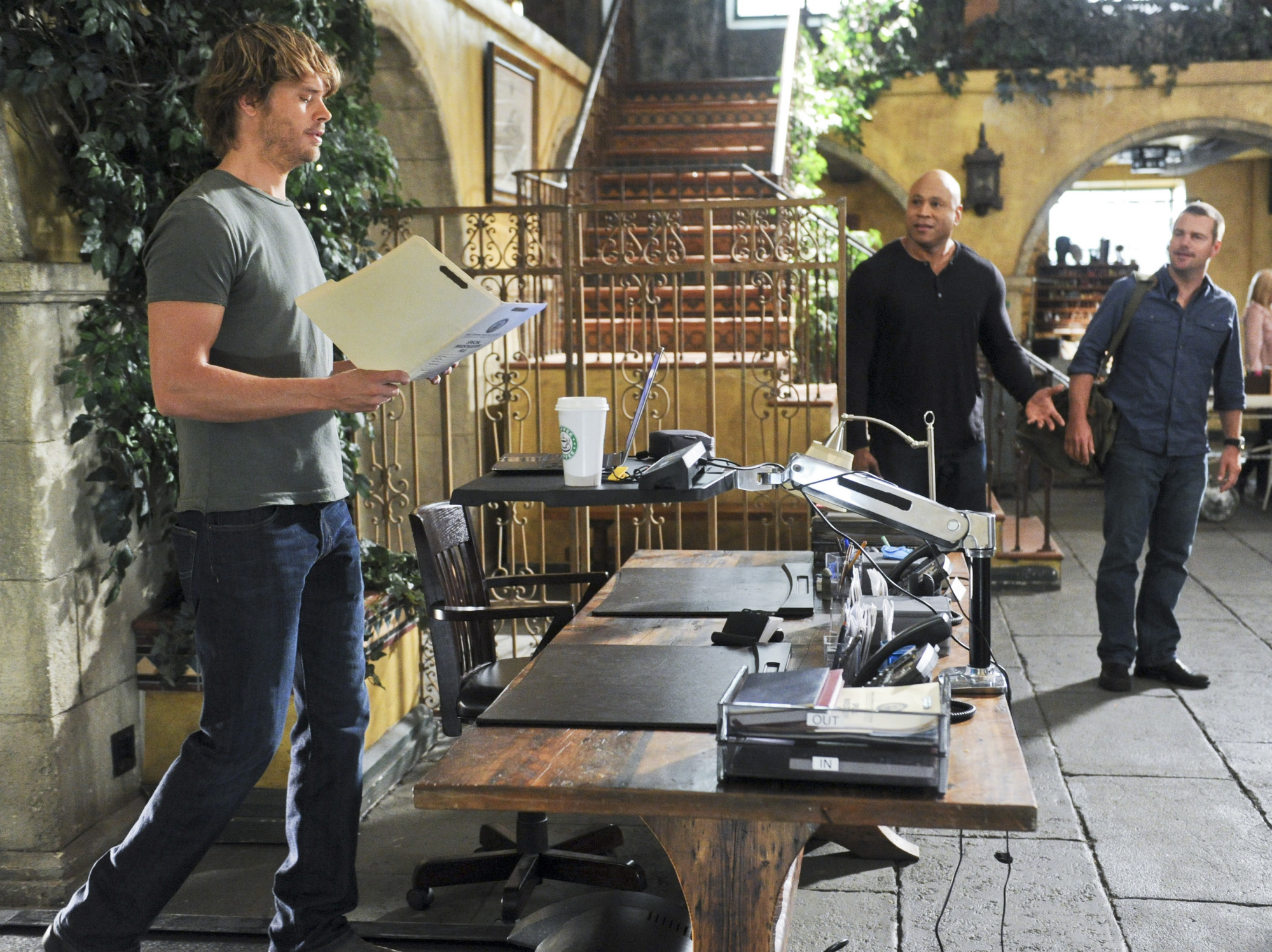 """NCIS Los Angeles Season Five Episode Four """"Big Brother"""" Promo Picture"""