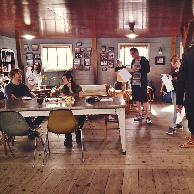 NCIS Los Angeles Season Six BTS Picture (Prod.#602)