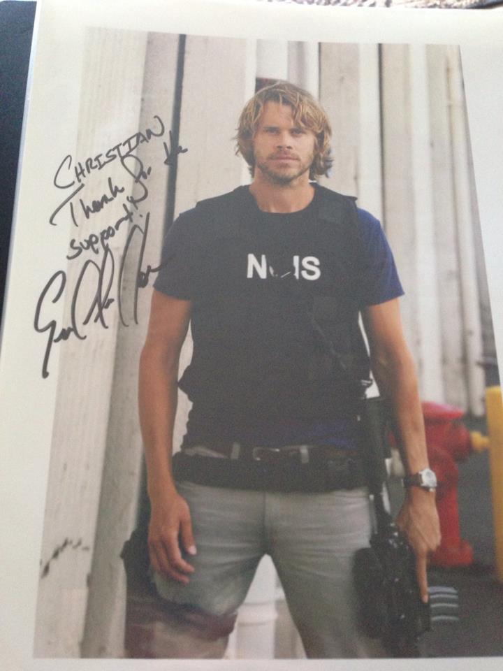 Eric Christian Olsen Autograph