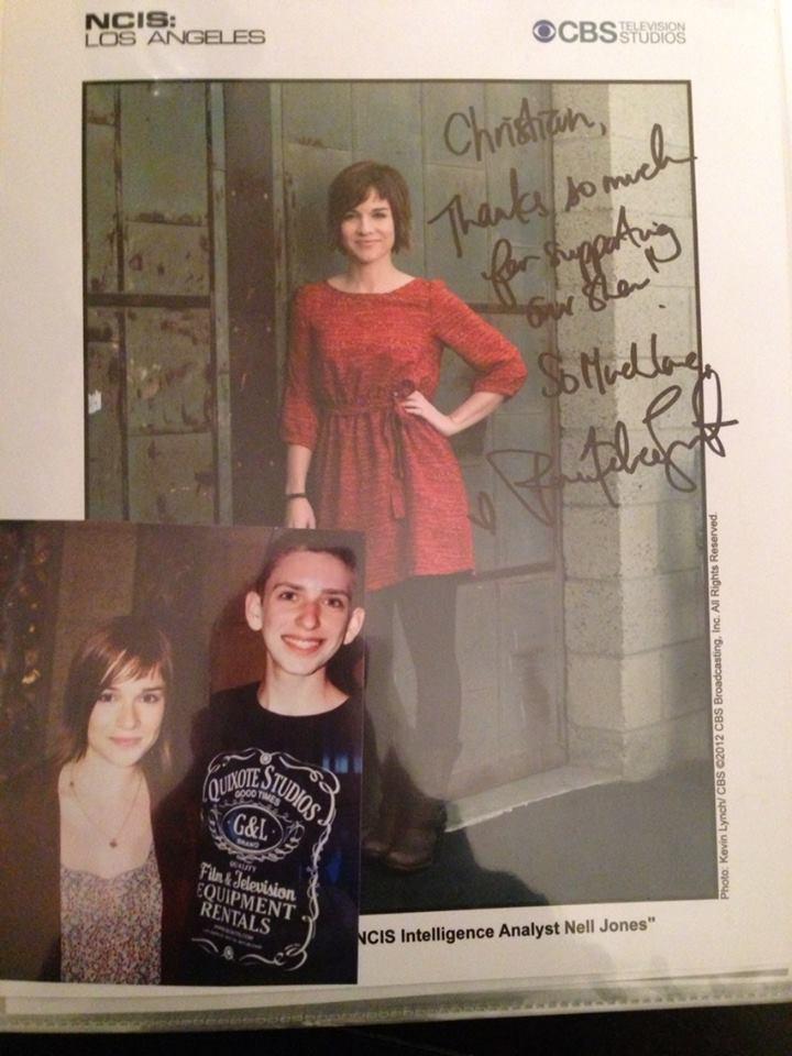 Renée Felice Smith Autograph