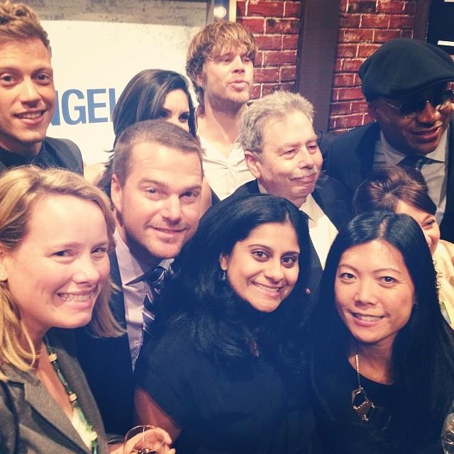 NCIS Los Angeles Cast At CBS Upfronts 2014